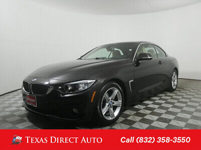 2014 BMW 4-Series 428i Texas Direct Auto 2014 428i Used Turbo 2L I4 16V Automatic RWD Convertible