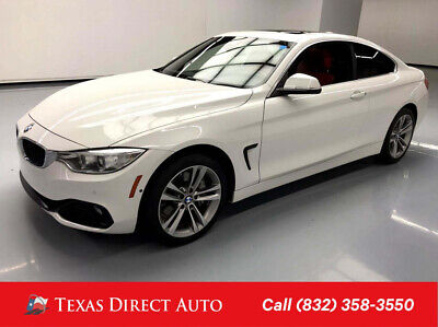 2016 BMW 4-Series 435i xDrive Texas Direct Auto 2016 435i xDrive Used Turbo 3L I6 24V Automatic AWD Coupe