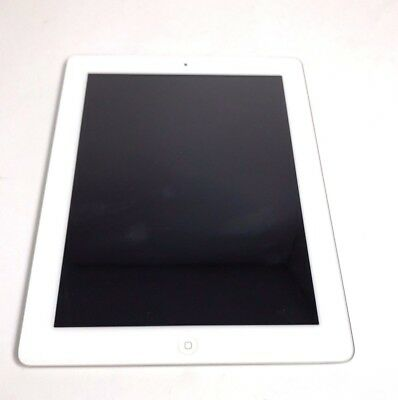 Very Good Used White Apple iPad 4 16GB WiFi A1458 4th Generation Tablet