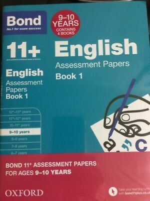 Bond 11 Plus Assessment Papers English 9-10 Year