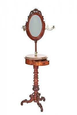 Fine Quality Antique Victorian Telescopic Dressing Stand
