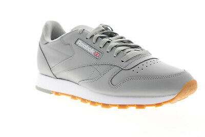MENS REEBOK CLASSIC Leather WhiteGum Trainers (SF1) RRP