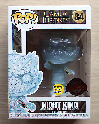 Funko Pop Game Of Thrones Crystal Night King With Dagger GITD + Free Protector