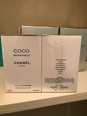 Chanel Coco Mademoiselle 3.4 fl oz 100ml Eau De Perfume *New authentic*