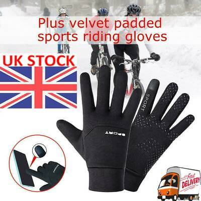 Football Gloves Kids Boys Waterproof Thermal Grip Outfield Player Sports Soft