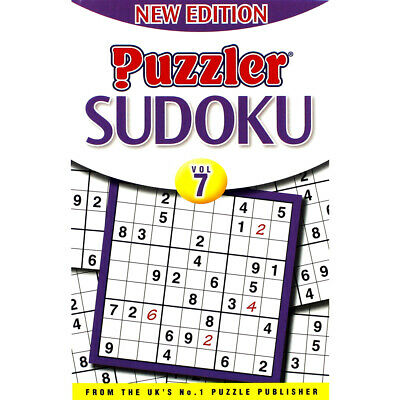 Puzzler Sudoku - Volume 7 by Puzzler Media (Paperback), Non Fiction Books, New