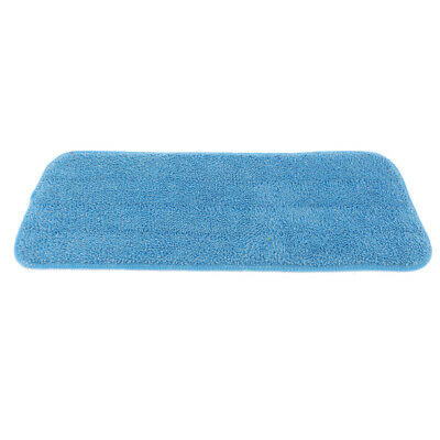 Reusable Household Flat Spray Mop Pad Floor Cleaning Mop Head Cloth Blue