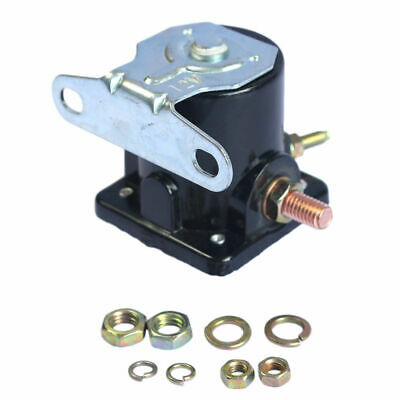 Black Solenoid Relay SW3 12V Heavy Duty For Ford Starter Car Truck Replaces Part