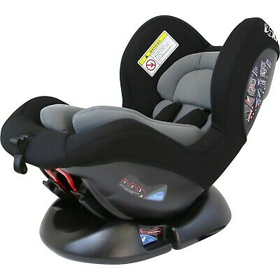 Maxus Baby Carseat Group 0+ 1 (CS002 - Grey) New Born Bab Carseat With Side Pro