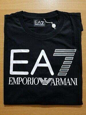 Mens Emporio Armani T-Shirt, Crew Neck, 100% Cotton, Fast and Free Delivery