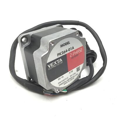 "Vexta PK264-01A Stepping Motor, 2-Phase, 1.8°/Step, 1A, 1/4"" Shaft Diameter"