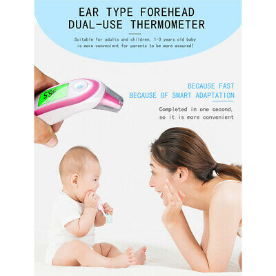 Digital LCD Infrared fever thermometer EAR Ear thermometer for children AdultsUK