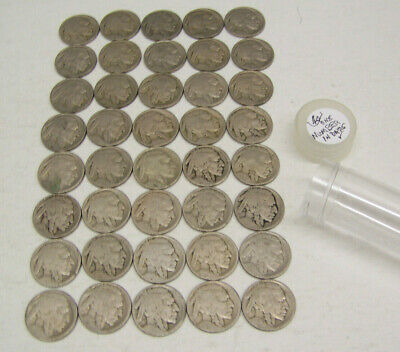 $2.00 Roll of Buffalo//Victory Nickels 1883-1938 Lot #2603 One