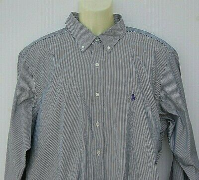 "MENS GENTS SUPER  SHIRT BY POLO Ralph Laure. 17.5"" EU 44 Button Down Coller"