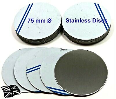 Any Diameter Up To 200mm 1.5mm Stainless Steel Custom Cut Disc