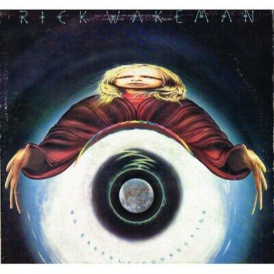 """Rick Wakeman - No Earthly Connection (ITA 1976 A&M Records SLAM 64583) LP 12""""."""