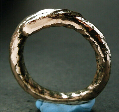 A  superb large wearable genuine ancient Viking bronze ring