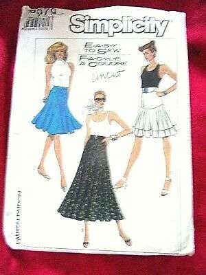 FREE SHIPPING!! Sz 10-26 MCCall`s 7601 Ladies 2 Hour Pants /& Skirts UNCUT