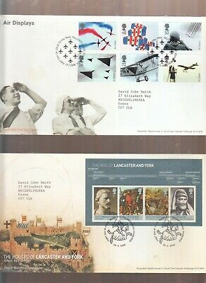 Gb 2008 All Fdc's Issued In That Year Inc Mini Sheets Etc