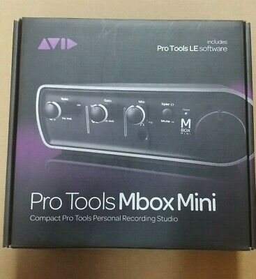 Avid Mbox Mini Driver Audio Interface 9100-65020-00