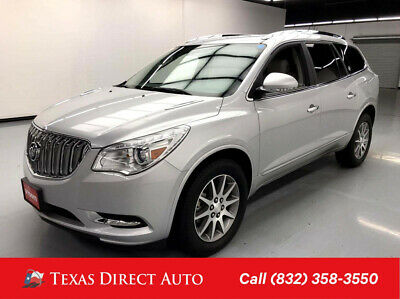 2017 Buick Enclave Leather Texas Direct Auto 2017 Leather Used 3.6L V6 24V Automatic FWD SUV Bose OnStar