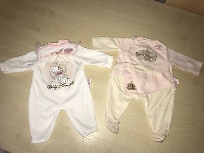 baby annabell clothes 2x Outfit