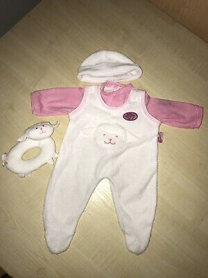 Baby Annabell Clothes 1x Outfit, 1x Rattle