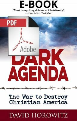 Dark Agenda: The War to Destroy by David Horowitz 2019 (P.D.F) instant delivery