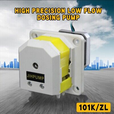 High Precision Low Flow Dosing Pump Double-Channel Peristaltic Metering Pump