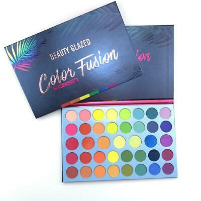 Colors Beauty Eye Makeup Matte Mineral Shimmer Shining Neon Eyeshadow Palette