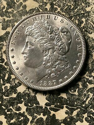 1887 U.S. Morgan $1 Dollar Lot#U312 Silver! High Grade! Beautiful!
