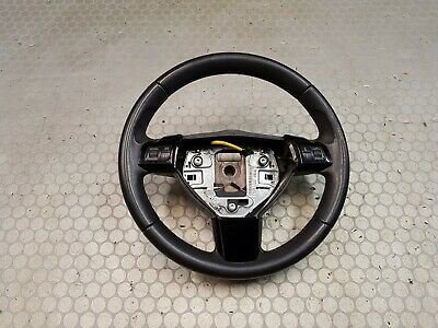 Vauxhall Astra H Leather Steering Wheel + Switch
