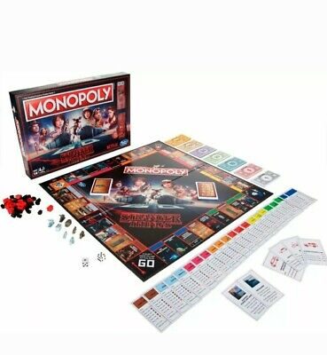 Monopoly - NETFLIX Stranger Things Edition Board Game By Hasbro Brand New Sealed