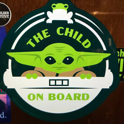 Official Disney Parks Magnet Baby Yoda The Child On Board Mandalorian Star Wars