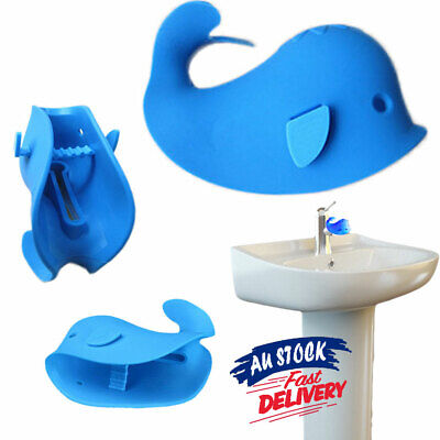 Tap Cover Protector Tub Edge Corner Safety Faucet Cute Whale Baby Bath AU Guard