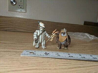 Kenner 1998 Star Wars Return of the Jedi Ewok Action Figures