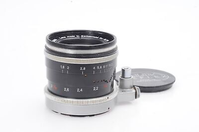 Kern-Macro-Switar 50mm f1.8 AR Lens 50/1.8 for Alpa                         #363