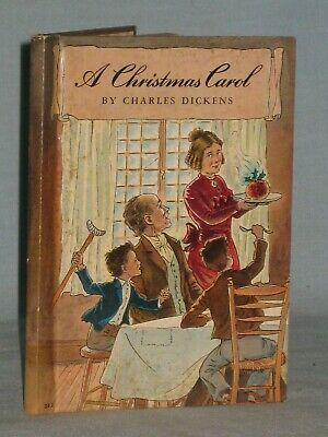 1938 Book A Christmas Carol By Charles Dickens