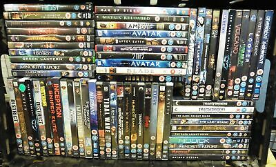 Collection of Science fiction/Sci-Fi/Space DVD Movie Job Lot Bundle #12900