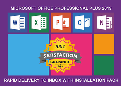 Instant Genuine Microsoft Office 2019 Pro Professional Plus License Key Retail