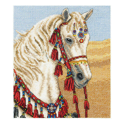 ANCHOR | Counted Cross Stitch Kit: Arabian Horse - Wall Hanging | PCE764