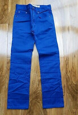 "Mini Boden BOYS BLUE JEANS Brand new SIZE 22"" 8-9 YEARS"