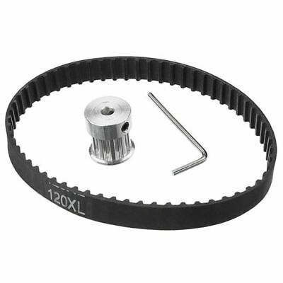 Aluminum Alloy XL10T 5mm Hole Wheel & 120XL Timing Belt W/ Wrench Engine Tools
