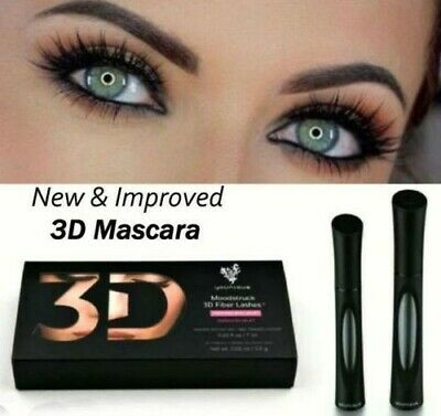 Younique Moodstruck 3D Fiber Lashes Mascara FAST FREE US SHIPPING Thick Eyelash