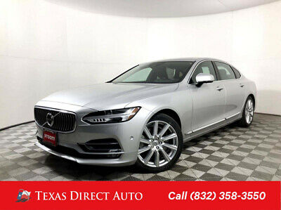 2018 Volvo S90 Inscription Texas Direct Auto 2018 Inscription Used 2L I4 16V Automatic AWD Sedan Premium