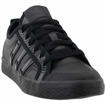 WOMEN ADIDAS HONEY Low Casual Lace Up Court Sneakers Black