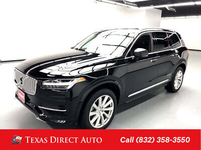 2018 Volvo XC90 Inscription Texas Direct Auto 2018 Inscription Used 2L I4 16V Automatic AWD SUV Premium