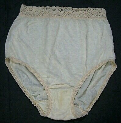HENSON KICKERNICK Super Sweet THIN KNIT GRANNY PANTIES Sissy Comfy VINTAGE sz 6