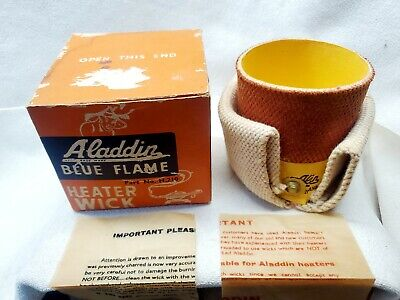 New-in- box Vintage ALADDIN Blue Flame heater wick Part # H.210~Made in England