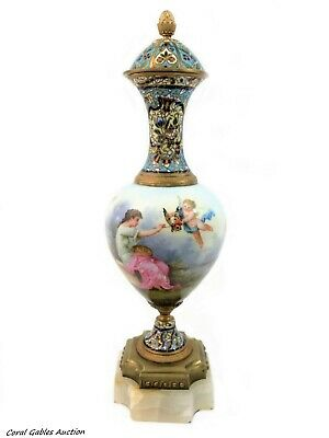 Antique French Champleve Sevres of the 19th Century